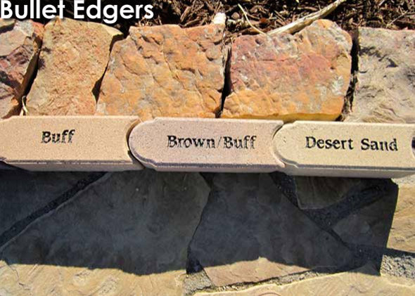 Bullet Edging - Buff, Brown/Buff, Desert Sand