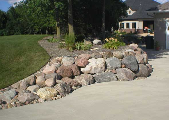Decorative rocks for houses and homes